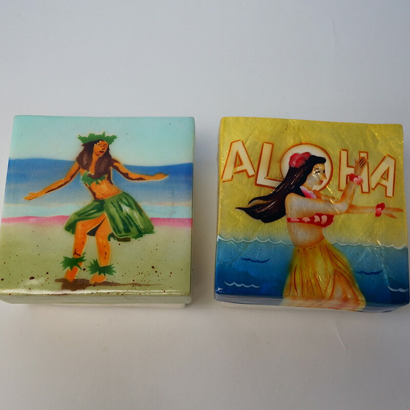 5000円以上で送料無料!ハワイアン雑貨、ハワイアン グッズシェル(貝)でできたアクセサリーボックス Sサイズご希望のデザインを1つお選びください♪一つ一つ手作業なので、多少デザインなどが変わります。