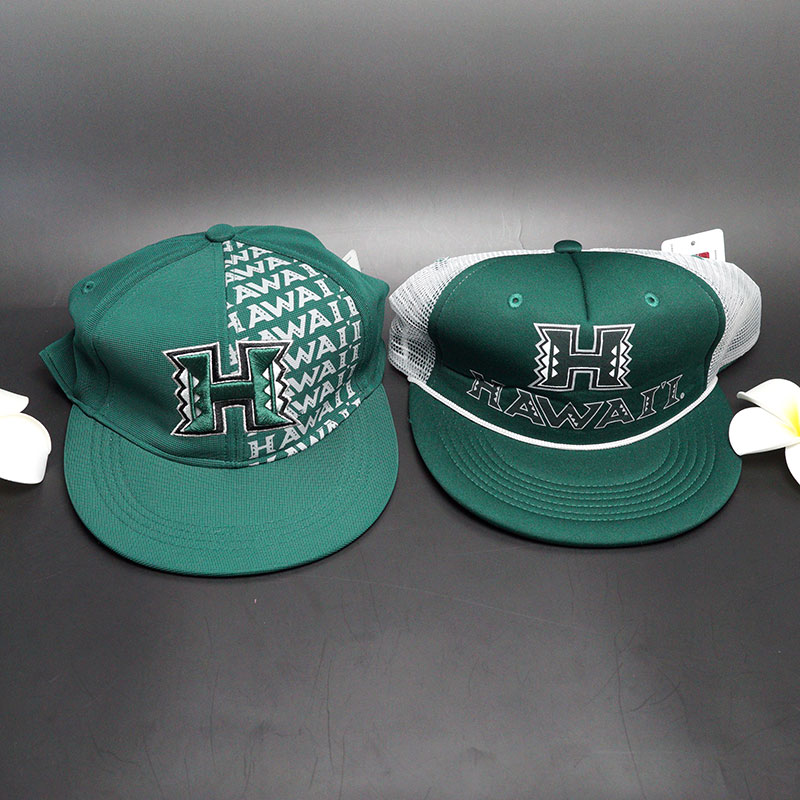 ハワイ大学 キャップ!デザインを1つお選びください。在庫限り!完売後の次回入荷はございません。