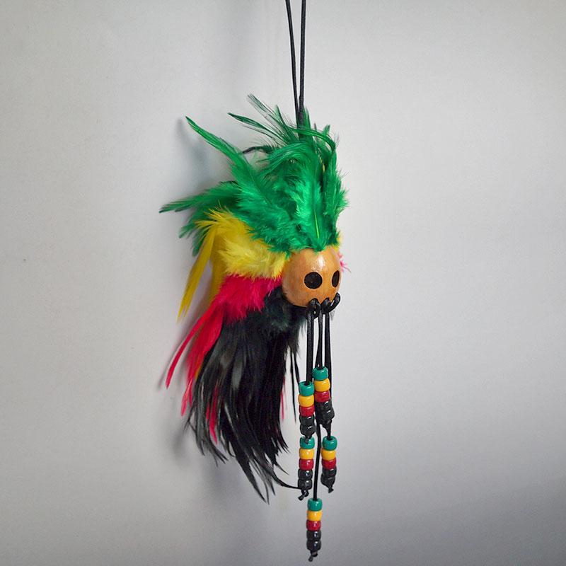 ハワイのお守り IKAIKA(イカイカ)ハワイの魔除けと幸運のお守り【イカイカ】【お守り】ウォーリアーヘルメット【魔よけ】手作りのため一つ一つ、どれも個性的で可愛い作りです!(メイドインフィリピン)