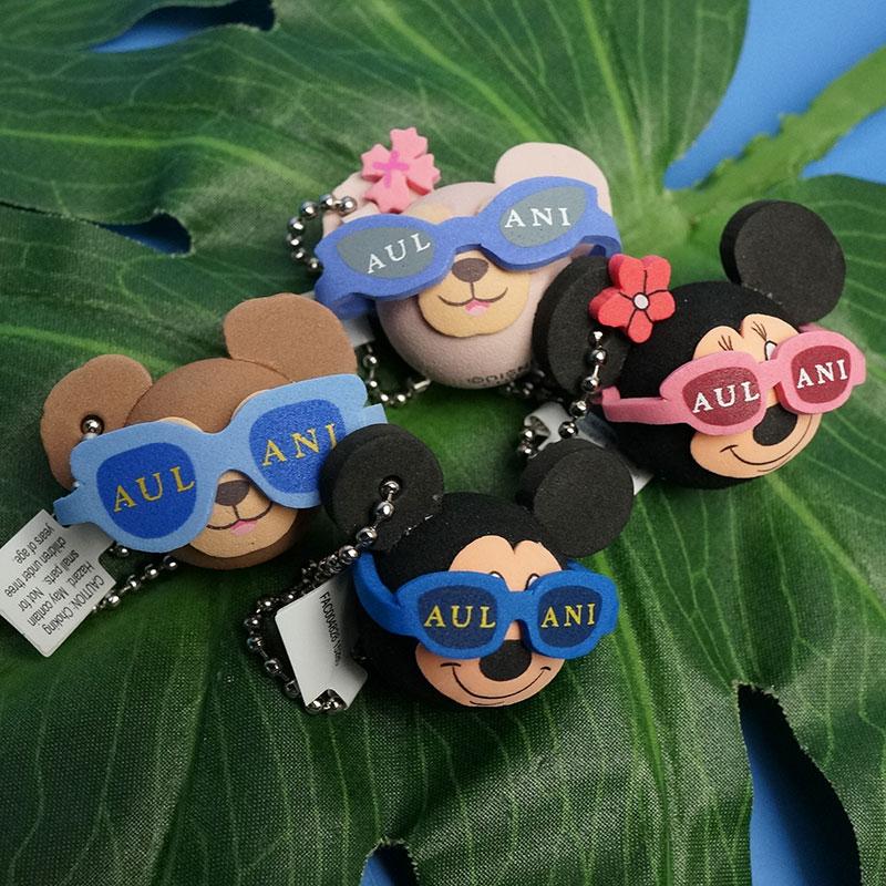 5000円以上で送料無料!ディズニー キーチャーム(ウレタン、発泡スチロール製)※1種類、お好きなキャラクターをお選びください♪鍵など、スマホは付属しません。ミッキー、ミニー、ダッフィー、シェリーメイ、ジェラトーニ!
