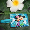 Hawaii only! Cute design for Disney's AULANI (aulani resort) luggage tag name tag Mickey Mouse and Minnie mouse.