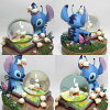 Stitch snow globe ( stitch & duck ) for snow globes * photo shot once opened ♪ no scratches, less product! The last one, end production for the next stock without!