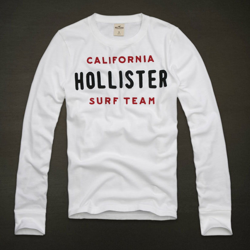 Hollister(ホリスター)ロングTシャツ※日本サイズでなく、アメリカンサイズ※ホリスターは全て初回生産のみ!完売後の次回入荷はありません!