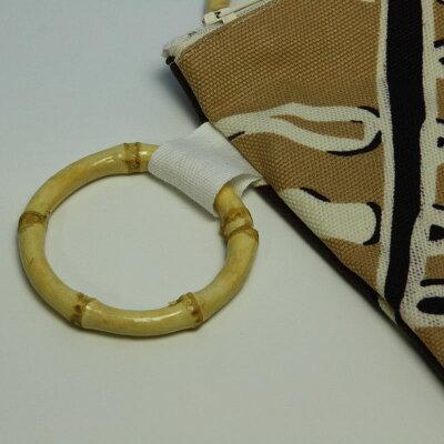 マヌヘアリィ(Manuheali'i)バンブーポーチ