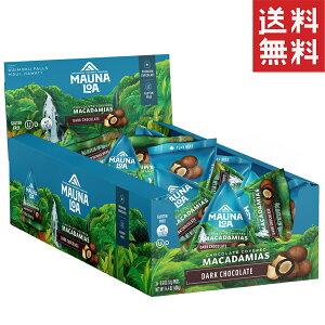 マカダミアナッツ チョコ マウナロア ダークチョコレート 17g×24パック