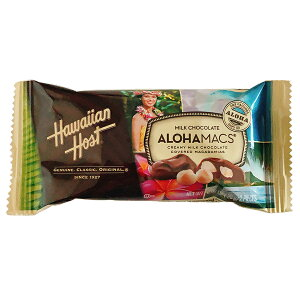 マカダミアナッツ チョコ ハワイアンホースト アロハマックス ミルクチョコレート 26g
