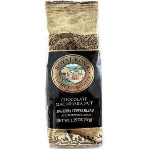 コーヒー フレーバー ロイヤルコナ チョコレートマカダミアナッツ ミニサイズ 49g 粉