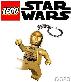 スターウォーズ グッズ STARWARS 【 LEGO × STARWARS / レゴ × スターウォーズ 】C-3PO KEYLIGHT LED LIGHT ライト おもちゃ キーホルダー 37366