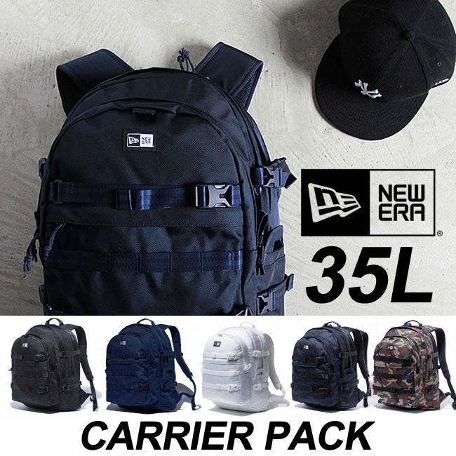 ニューエラ バックパック NEWERA Carrier Pack[35L] リュック キャリアパック バッグ デイパック 鞄 カバン bag キャップ スナップバック [売れ筋]【18SP2】