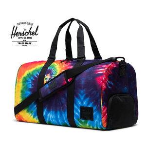 ハーシェル Herschel Supply ボストンバッグ NOVEL[42.5L]10026 (RAINBOW TIEDYE)旅行鞄 ダッフルバック ノベル ボストンバック ハーシェルサプライ メンズ レディース おしゃれ