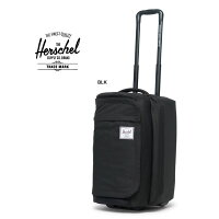 ハーシェルキャリーバッグHerschel[WHEELIEOUTFITTER50L](10586)BLKスーツケーストラベルハーシェルサプライ[0402]
