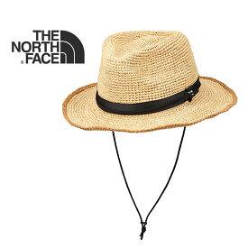 【SPUでP最大16倍】ノースフェイス ハット 帽子 THE NORTHFACE [ NN01554 ] RAFFIA HATラフィアハット サファリハット ストローハット 麦わら帽子