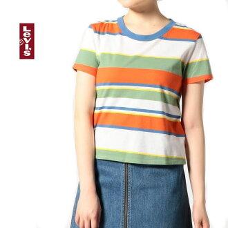 [] Levi's리바이스(레이디스) T셔츠[29567-0000]서프 스트라이프 T셔츠