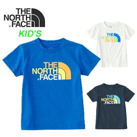 ノースフェイス キッズ Tシャツ THE NORTH FACE [ NTJ31823 ] S/S COLOFUL LOGO T 半袖Tシャツ [メール便][0804]【Y】【SPS09】