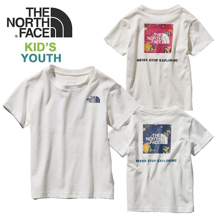ノースフェイス キッズ Tシャツ THE NORTH FACE [ NTJ31928 ] S/S SQ LOG JOSH T ショートスリーブスクエアロゴジョシュアティー [メール便][0503]