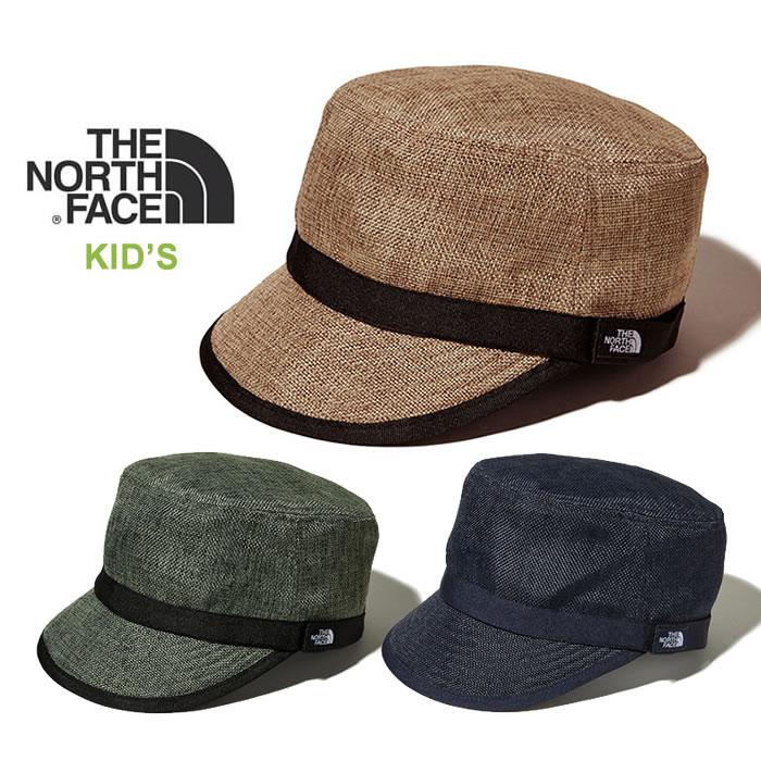 ノースフェイス キッズ キャップ THE NORTH FACE [ NNJ01811 ] KIDS HIKE HAT northface 帽子 [0420]