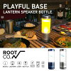 Lantern speaker bottle [ROOT CO.] (PBLS) PLAYFUL BASE LANTERN SPEAKER BOTTLE LED light water bottle Bluetooth speaker lantern speaker