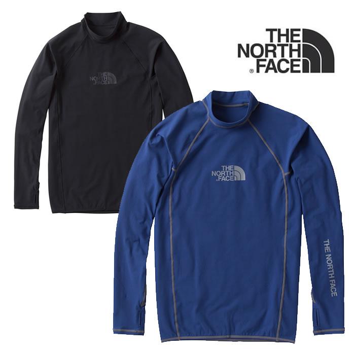ノースフェイス ラッシュガード THE NORTH FACE [ NT11843 ] L/S WATERSIDE RASH [ UVカット] 長袖 メンズ [メール便] [0401]【autumn_D1810】【Y】