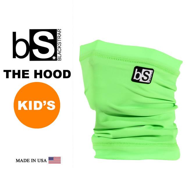 子供用 フェイスマスク 防寒 [メール便]《キッズ》THE KIDS TUBE [BS64] [BRIGHT GREEN]Blackstrap ブラックストラップ 【MADE IN USA】ジュニア キッズ 子供用 facemask 日焼け止め【17SP】修正【SPS】