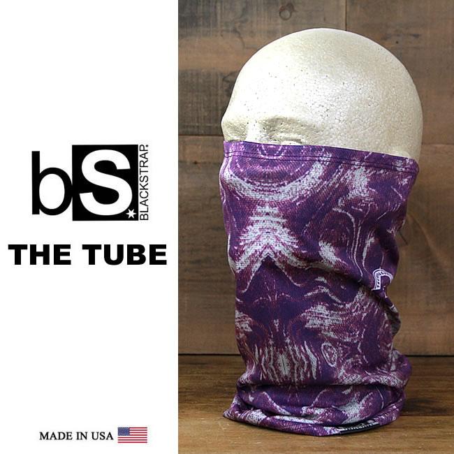 スノーボード フェイスマスク 防寒 [メール便]THE DAILY TUBE [BS46] [PURPLE HAZE] Blackstrap ブラックストラップ 【MADE IN USA】facemask 日焼け止め【17SP】修正【SPS】