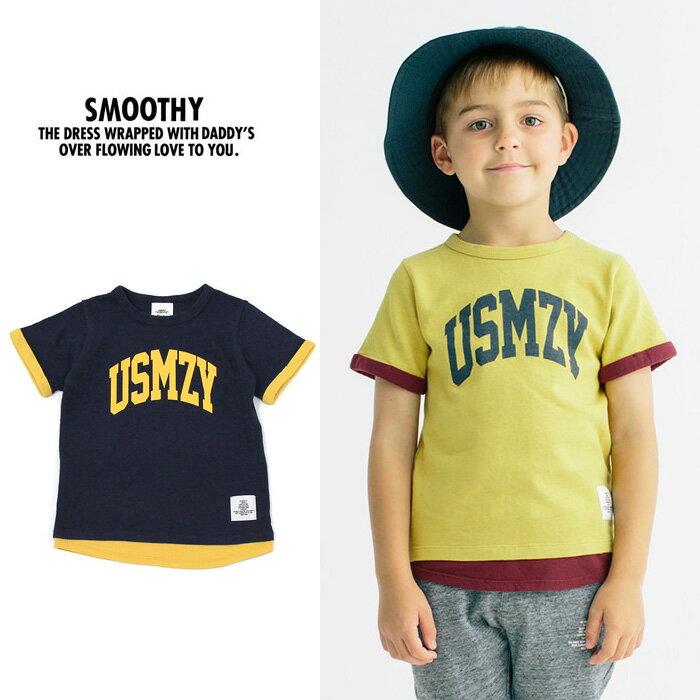 スムージー Tシャツ SMOOTHY 19CS-16 レイヤー TEE [メール便] [0510]【WK】