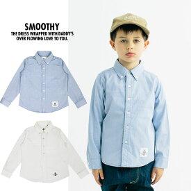 【5%還元店】スムージー シャツ SMOOTHY [ 01SH-03 ] オックスBDシャツ ボタンダウン [0215]
