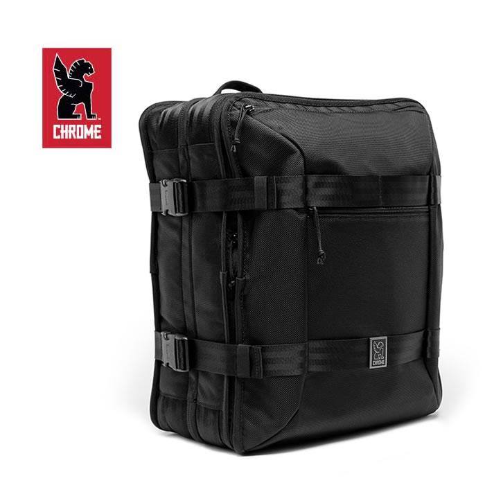 【買い回り&SPUで最大42倍】クローム バックパック CHROME [ BG209 ] MACHETO TRAVEL PACK バックパック (ALL BLK) リュック 鞄 カバン [0205]