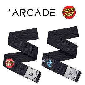 アーケードベルト ARCADE belt [ ARCA13621 ] RAMBLER SANTA CRUZ COLLAB ゴムベルト [ メール便 ] [0904]