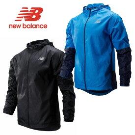 ニューバランス ジャケット new balance [ AMJ93195 ] NBRC グラフィック JKT トレーニング アウター ランニング [0801]【SPS03】