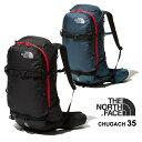 【25日は全品P5〜10倍】ノースフェイス スノーバッグ THE NORTH FACE [ NM61951 ] CHUGACH 35 チュガッチ M (34.5L) …
