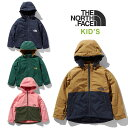 ノースフェイス キッズ アウター THE NORTH FACE [ NPJ71954 ] Compact Nomad Jacket コンパクトノマドジャケット ...