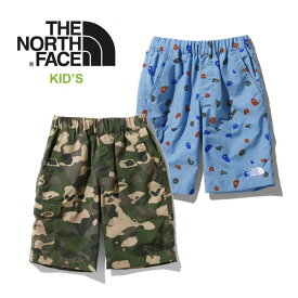 ノースフェイス キッズ ショートパンツ THE NORTH FACE [ NBJ41959 ] NV CLASS V SHORT ノベルティクラスファイブショーツ [メール便][0422]