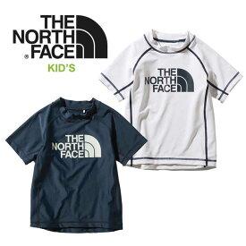 ノースフェイス キッズ ラッシュガード THE NORTH FACE [ NTJ12044 ] S/S SUNSHADE PULL 半袖 子供 [メール便] [0520]