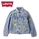 リーバイス × スーパーマリオ Gジャン Levi's [ 77380-0016 ] VINTAGE FIT TRUCKER JKT ビンテージフィットトラッカージャケット ユニセックス[0401]