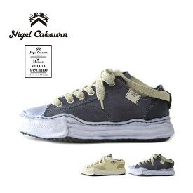 ナイジェルケーボン メゾン ミハラヤスヒロ コラボ スニーカー Nigel Caboun MIHARA.Y LOW CUT OVER DYED SNEAKER 靴 シューズ [200825]