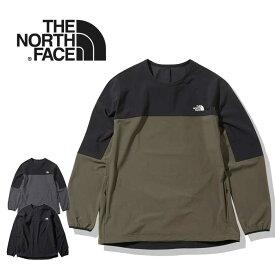 ノースフェイス エイペックスフレックスクルー THE NORTH FACE [ NP22082 ] APEX FLEX CREW ピステ トレーニングウエア [0801]