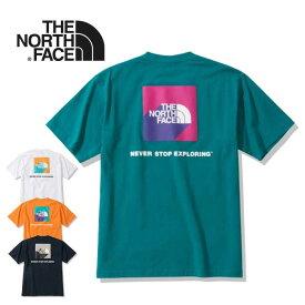 ノースフェイス Tシャツ THE NORTH FACE [ NT32010 ] S/S 3D SQUARE LG T 3DスクエアロゴT [メール便] [0526]【Y】