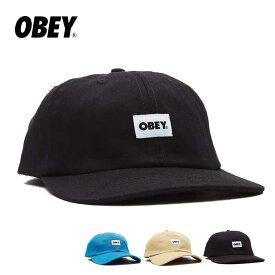 OBEY オベイ キャップ BOLD LABEL ORGANIC SNAPBACK 帽子 スナップバック 100570126 [200924]【P10】