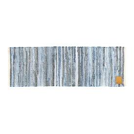 【デニム生地リユースマット】(約40×120cm)ハワイアン・リゾート・ビーチ・マリン玄関マット・室内マット・屋内マットキッチンマット・バスマット・ラグハワイアン インテリア