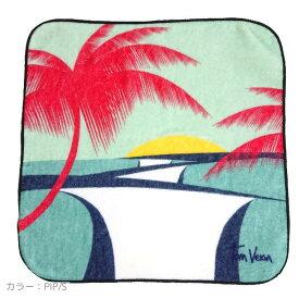 【ハンドタオル】Tom Veiga(トム ヴェイガ) ハンドタオル ハンカチ ギフト ビーチ 海 サーフィン 波 旅行 ハワイ ブラジル 西海岸 雑貨 小物 アート 絵 (PIP/S) レディース メンズ