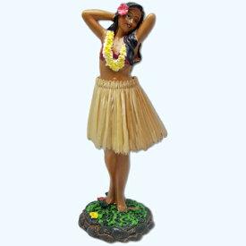 【フラドール】(フラガール/ポージング)ハワイアン人形・フィギュア・おもちゃダッシュボードフラドールハワイアン雑貨・お土産・インテリア