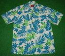 アロハシャツ|AKIMI DESIGNS HAWAII(アキミ デザインズ ハワイ)|AK198|半袖|メンズ|オフホワイト|ハワイアン|…