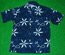 アロハシャツ|AVANTI SILK(アヴァンティ シルク)|A833B|半袖|メンズ|ブルー(青・紺色)|エルビス・プレスリー…