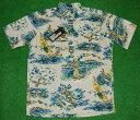アロハシャツ|REYN SPOONER(レインスプーナー)|RS487|半袖|メンズ|ライトベージュ|人気|ハワイ|サーフィン|…