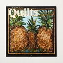 【0001】2020年 カレンダー キルト Quilt ハワイ hawaii calendar