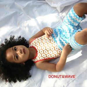 【ビブパ グラフィックライン DONUT&WAVE】 赤ちゃんのデイウェア 70〜90cm 男の子 女の子 赤ちゃん 出産祝い ベビーギフト ベビー服 ロンパース アロハロハ ALOHALOHA