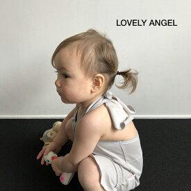 【ビブパ ソリッドライン LOVELY ANGEL】 赤ちゃんのデイウェア 70〜90cm 男の子 女の子 赤ちゃん 出産祝い ベビーギフト ベビー服 ロンパース アロハロハ ALOHALOHA