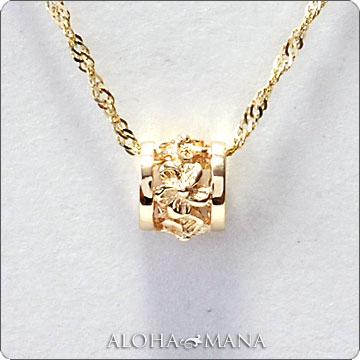 ネックレス レディース 女性 ハワイアンジュエリープチ バレル・K10/K14/K18 ゴールド ペンダント トップ 華奢 シンプル (付属チェーンなし) apdo6491 ホワイトデー プレゼント ギフト
