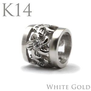 k14ネックレス k14 ホワイトゴールドネックレス 14金 ホワイトゴールド ネックレス ペンダントトップ k14 ハワイアンジュエリーレディース 女性 ダイヤモンド プチ バレル ゴールド ペンダント