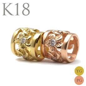 k18ネックレス k18 ゴールドネックレス 18金 ゴールド ネックレス ペンダントトップ k18 ハワイアンジュエリーレディース 女性 ダイヤモンド プチ バレル ゴールド ペンダント トップ 付属チェーンなし apdo6498apd